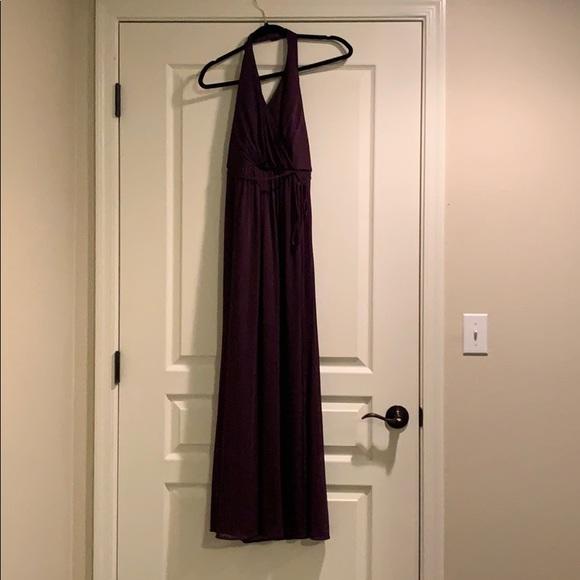 David's Bridal Dresses & Skirts - David's Bridal Plum Bridesmaid dress
